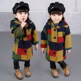 女童外套0秋冬款1女寶寶冬季加厚風衣3周歲嬰兒小女孩連帽呢大衣 CY潮流站