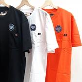 【現貨】CLASSICK- DICKIES HEAVYWEIGHT TEE 男女 休閒 短袖 上衣 舒適 口袋 短T 黑 白 橘 3色