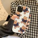 韓國ins小熊iphone11pro max蘋果x手機殼7p/8plus女xs防摔xr全包6 店慶降價