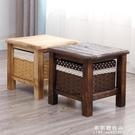 實木小凳子家用創意時尚矮凳換鞋凳客廳木凳子成人茶幾小板凳兒童 果果輕時尚NMS