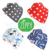 英國Zippy 幼兒時尚口水巾