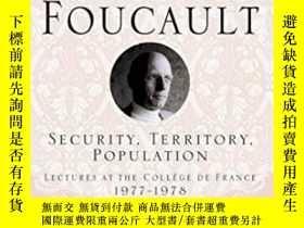 二手書博民逛書店Security,罕見Territory, PopulationY464532 Michel Foucault