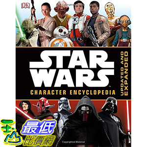 [美國直購] 美國暢銷書 星際大戰 Star Wars Character Encyclopedia, Updated and Expanded Hardcover