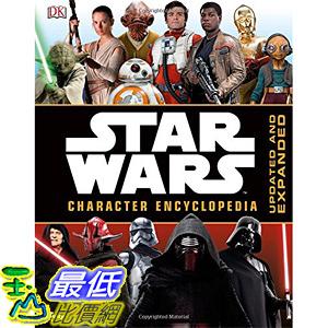 [美國直購] 美國暢銷書 星際大戰 Star Wars Character Encyclopedia, Updated and Expanded Hardcover
