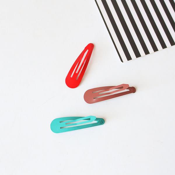 【TT】糖果色髮夾 BB夾 頭飾糖果色小夾子 彩色劉海髪夾 一字夾飾品