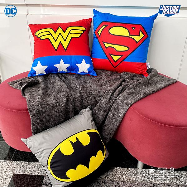 【DC正義聯盟大方枕三款可選】辦公室沙發靠墊擺飾 60支精梳棉 戀家小舖台灣製