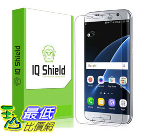 [105美國直購] 螢幕保護膜 Galaxy S7 Edge Screen Protector Protective Guard  Extremely Smooth B01BG2EJYS
