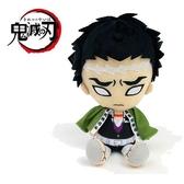 【鬼滅之刃 絨毛玩偶】鬼滅之刃 絨毛玩偶 娃娃 悲鳴嶼行冥 Chibi 日本正版 該該貝比