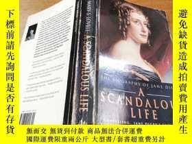 二手書博民逛書店A罕見Scandalous Life: The Biograph