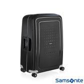 Samsonite 新秀麗 25吋 S'CURE 四輪 PP硬殼TSA扣鎖行李箱(黑)