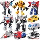 變型機器人 手動變型模型玩具合金變形電影威震戰士金剛5汽車機器人男孩禮物