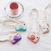 ins網紅爆款兒童手工木制玩具照相機 創意手工制作小相機