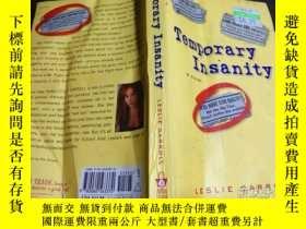 二手書博民逛書店英法德意等原版外文罕見temporary insanity 2004年 大32開平裝Y274511 lesli
