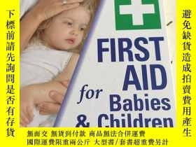 二手書博民逛書店FIRST罕見AID for Babies & ChildrenY25376 Dr David Bass NE