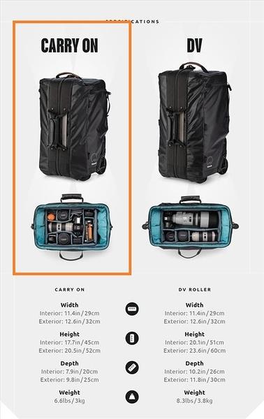 【標配不附內袋 520-112】Shimoda Carry-on Roller v2 Black 黑色拉桿滾輪式背包 標配不附內袋(如 520-216)