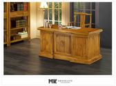 【MK億騰傢俱】ES614-01印尼5.1尺柚木主管辦公桌
