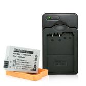 Dr.battery電池王 for Canon LP-E8 高容量鋰電池+Kamera佳美能專用充電器