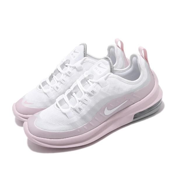 Nike 慢跑鞋 Wmns Air Max Axis 粉紅 白 女鞋 仙女鞋 氣墊 運動鞋 【ACS】 AA2168-107