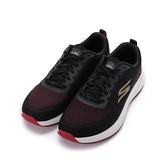 SKECHERS 慢跑系列 GORUN PULSE 綁帶運動鞋 黑紅 220096BKRD 男鞋