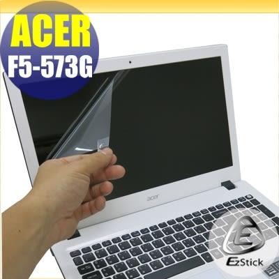 【Ezstick】ACER Aspire F5-573 G 專用 靜電式筆電LCD液晶螢幕貼 (可選鏡面或霧面)