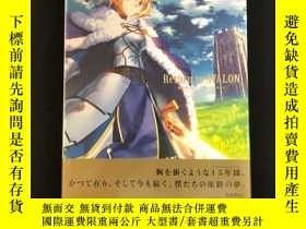 全新書博民逛書店[] 塑封 日版 Return to AVALON -武內崇 Fate ART WORKS-Y401720 K