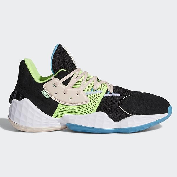 ADIDAS HARDEN VOL. 4 男鞋 籃球 哈登 Lightstrike中底 緩衝 黑 綠【運動世界】FY0874