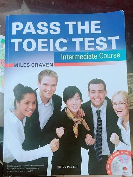 (二手書)Pass the TOEIC Test Intermediate Course(with MP3+Key audio scrip..