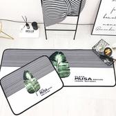 時尚創意地墊206 廚房浴室衛生間臥室床邊門廳 吸水長條防滑地毯(50*150cm)