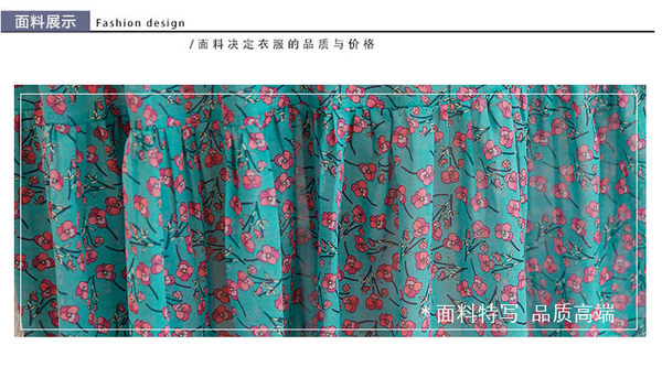 雪紡連身裙短袖洋裝_共三色【特洛衣城】KHP-Lsgd-1717
