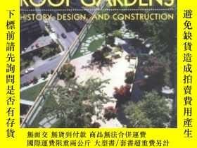 二手書博民逛書店Roof罕見Gardens: History, Design,