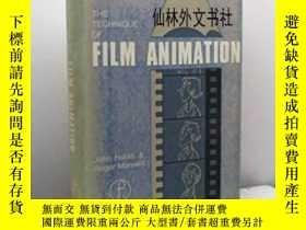 二手書博民逛書店【罕見】The Technique Of Film Animat