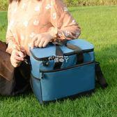保溫飯盒袋子大號手提包防水牛津布學生戶外便當包大容量保冷袋 俏腳丫
