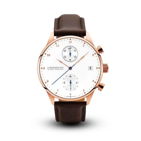 ABOUT VINTAGE 1815 ROSE GOLD CHRONOGRAPH