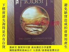 二手書博民逛書店預售絕版罕見霍比特人 hobbit 1、2分冊盒裝平裝 英文原版 The Hobbit (Part 1 and 2