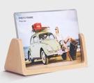 相框 歐式木質相框擺台創意6 7寸七寸壓克力宜家韓版現代沖印洗照片加