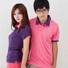 男款3M吸濕排汗POLO衫 素面POLO衫 紫色