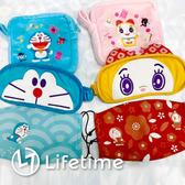 ﹝哆啦A夢旅行口眼罩組﹞7-11集點 口罩 眼罩 附收納袋 小叮噹 Doraemon〖LifeTime一生流行館〗
