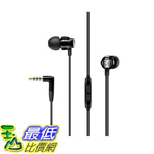 [9美國直購] Sennheiser 耳機 CX 300S In Ear Headphone with One-Button Smart Remote - Black