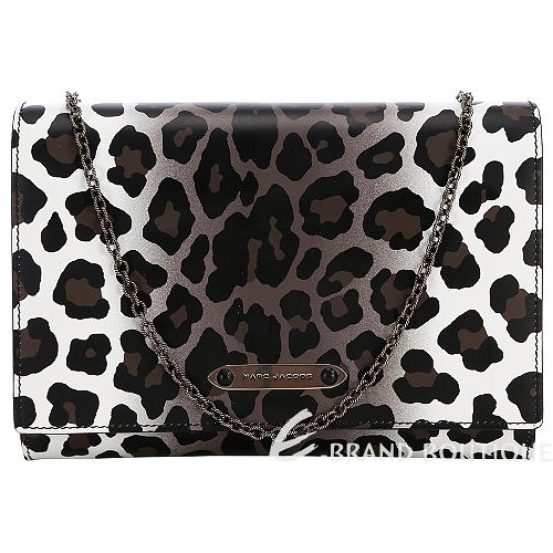 MARC JACOBS Wild Universal All In One 豹紋鍊帶晚宴包 1320426-50