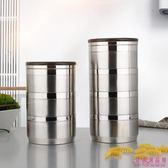 便當盒 不銹鋼 3層 保溫飯盒 成人 超長 保溫 手提 大容量 圓形