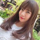 韓系全頂假髮 巧克力挑染色 自然微彎捲度 消光髮絲 高品質假髮 C8122 魔髮樂Mofalove