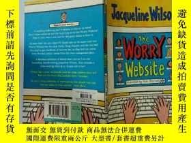 二手書博民逛書店The罕見Worry Website:擔憂網站.Y200392