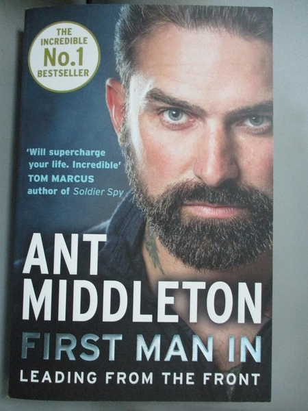 【書寶二手書T2/原文書_GKX】First Man In: Leading from the Front_Middleton, Ant