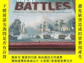 二手書博民逛書店great罕見battles:decisive conflict