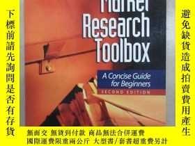 二手書博民逛書店英文書罕見The Marker Research ToolboxY15969 出版2006