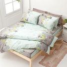 床包被套組 / 雙人【香草綠】含兩件枕套...