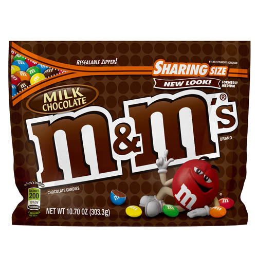 M&M S牛奶巧克力303.3g【愛買】