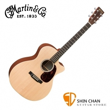 Martin GPCX1AE 41吋 可插電 單板民謠吉他 桶身: GP桶【電木吉他/台灣總代理/公司貨】