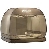免安裝蒙古包蚊帳1.5m床上可折疊家用2米學生宿舍1.2兒童防摔1.8m
