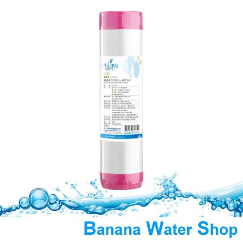 【Banana Water Shop】千山淨水 CT-G6 精密進口三效合一濾芯